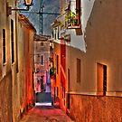 Street in Cehegin - Spain by marcopuch