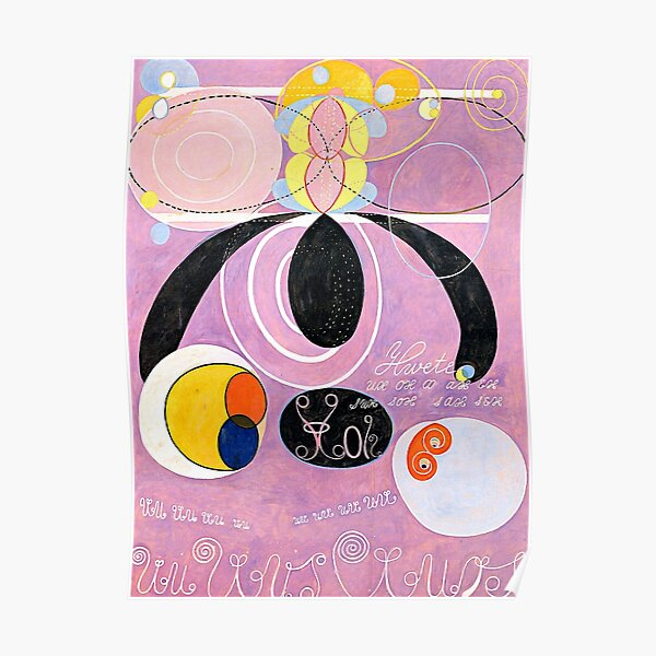 "Hilma af Klint ""The Ten Largest, No. 06, Adulthood, Group IV"" Poster"