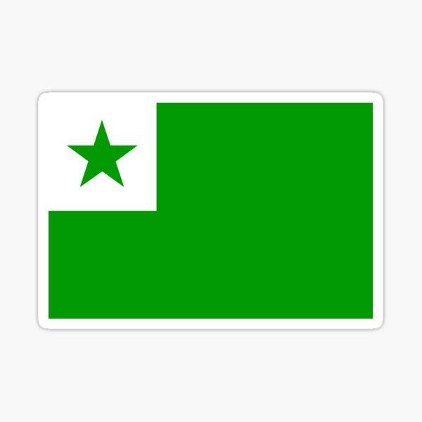 Official Esperanto Flag Sticker