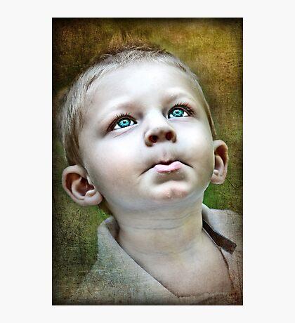 Little Boy Blues Photographic Print