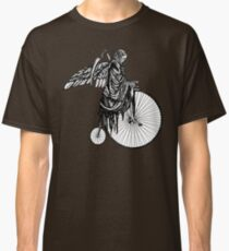 Death Rides an Old Timey Bike Classic T-Shirt
