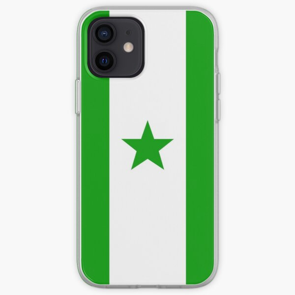Official Esperanto Flag iPhone Soft Case
