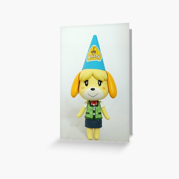 Isabelle says it's party time! Greeting Card