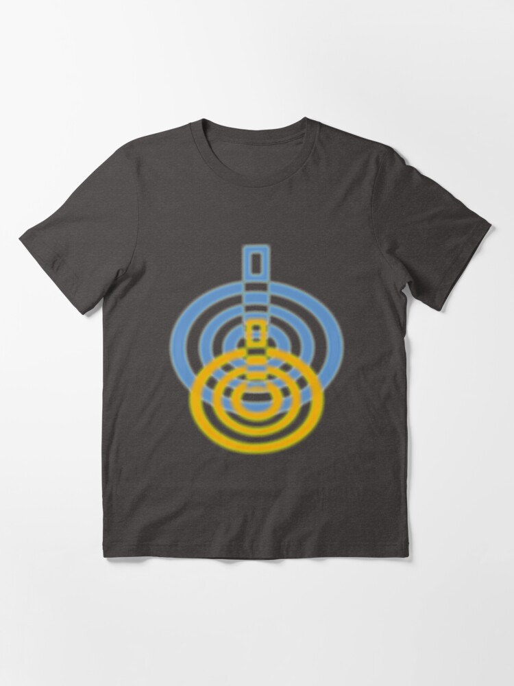 Alternate view of Geometric Circular Art | Urban Essential T-Shirt