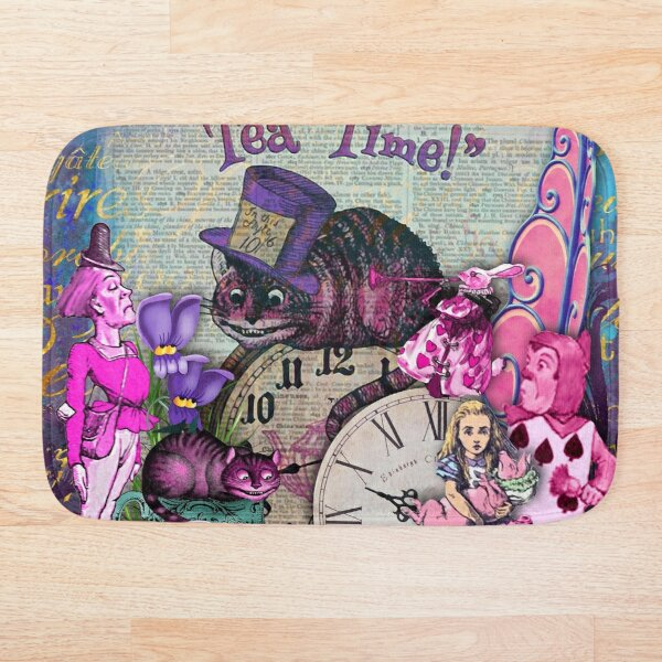 alice vintage Bath Mat