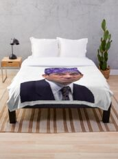 Prison mike Throw Blanket