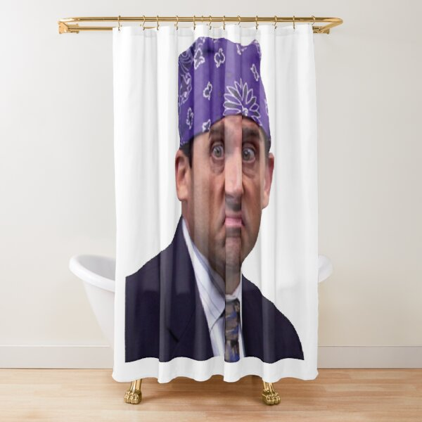 Prison mike Shower Curtain