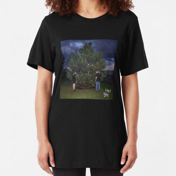 100 gecs - 1000 gecs cover art Slim Fit T-Shirt