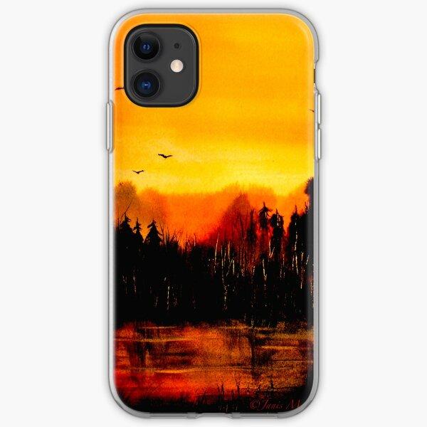 Copper Sky... iPhone Soft Case