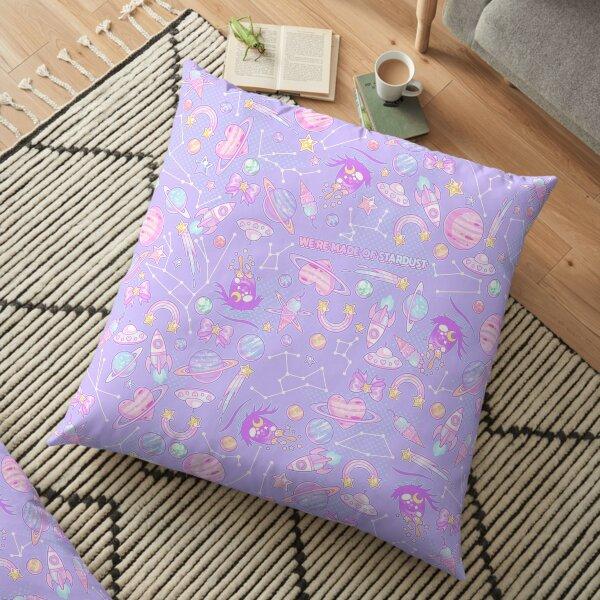 STAR CHILD (re-edit) Floor Pillow