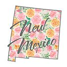 New Mexico State | Floral Design with Roses von PraiseQuotes