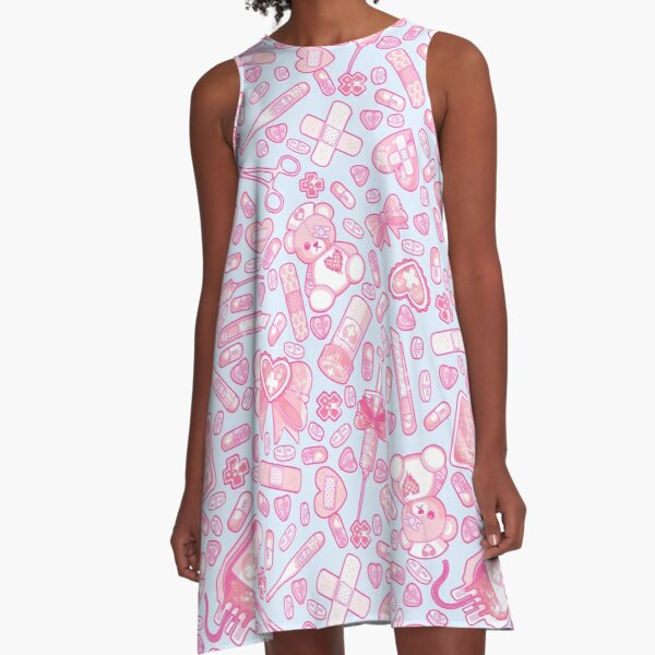 Sickly Sweet A-Line Dress