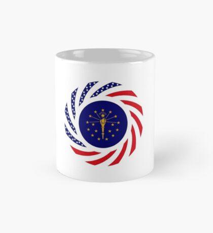 Indiana Murican Patriot Flag Series Mug