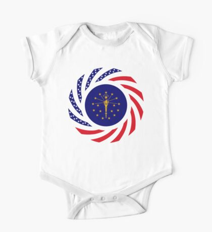 Indiana Murican Patriot Flag Series Kids Clothes