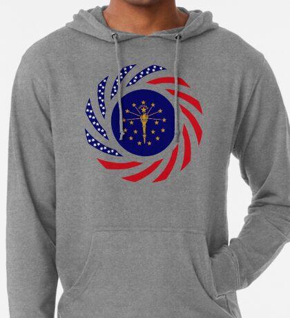 Indiana Murican Patriot Flag Series Lightweight Hoodie