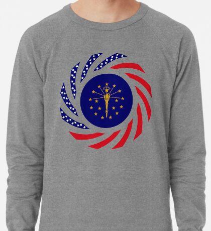 Indiana Murican Patriot Flag Series Lightweight Sweatshirt