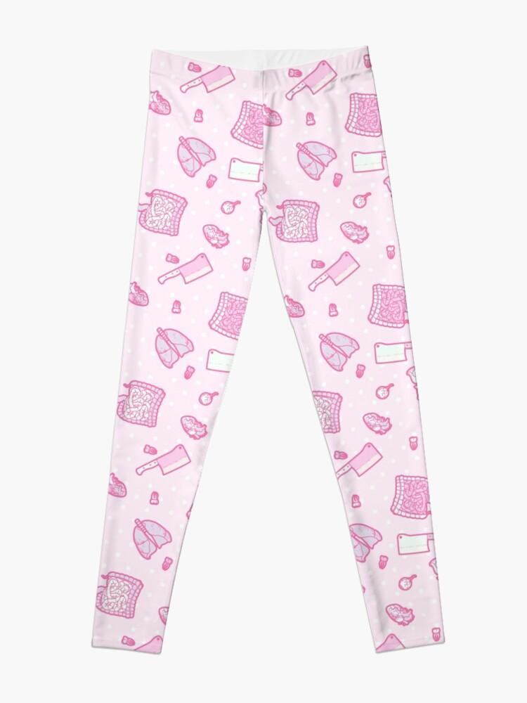 Alternate view of Sweet Yandere (Pink) Leggings