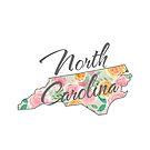 North Carolina State | Floral Design with Roses von PraiseQuotes