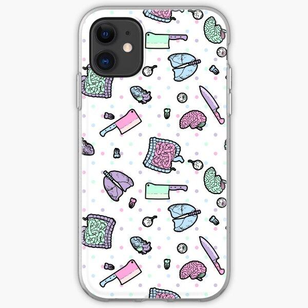 Sweet Yandere (White) iPhone Soft Case
