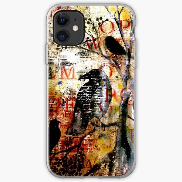 Crow... iPhone Soft Case
