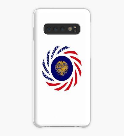 Oregon Murican Patriot Flag Series Case/Skin for Samsung Galaxy