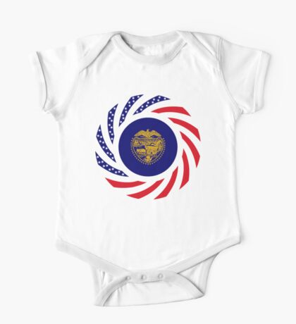 Oregon Murican Patriot Flag Series Kids Clothes