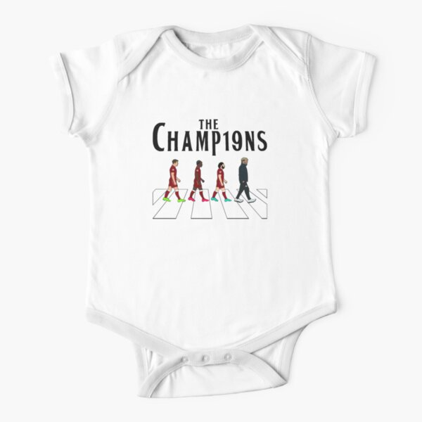 Liverpool FC: The Champions Short Sleeve Baby One-Piece