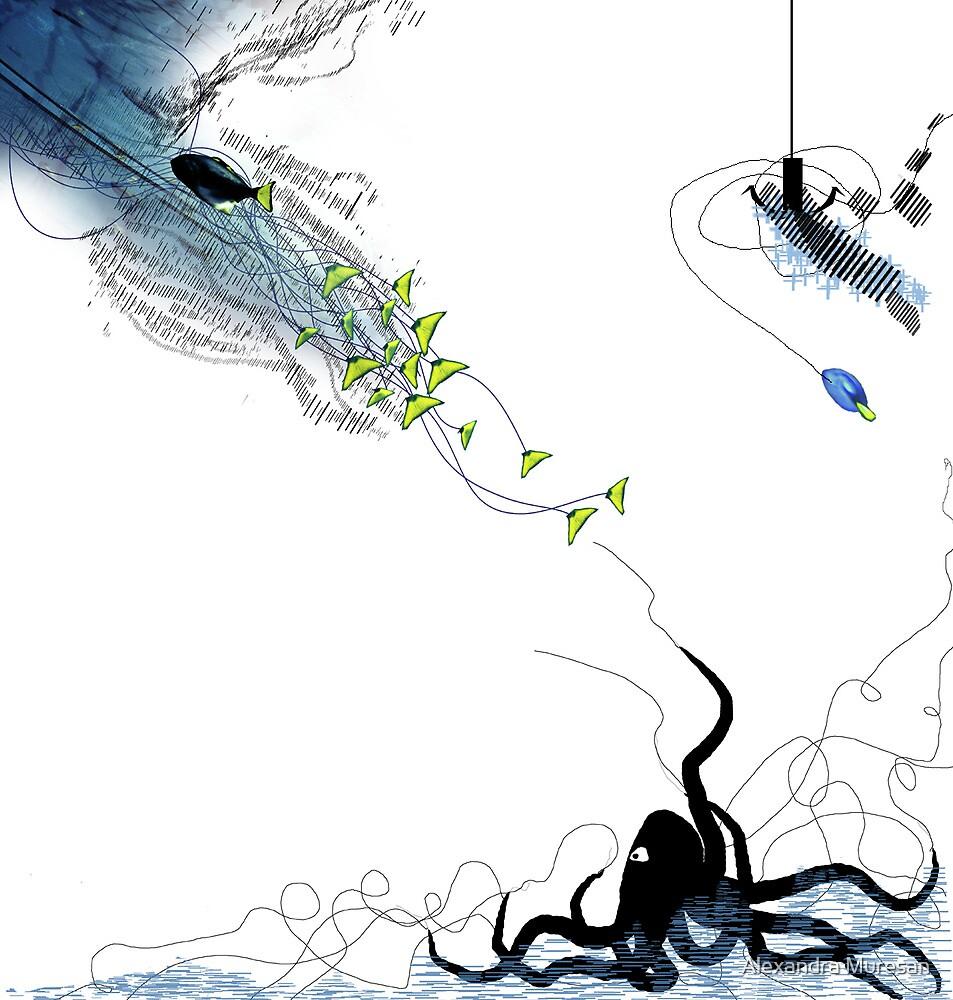 Underwater Movement by Alexandra Muresan