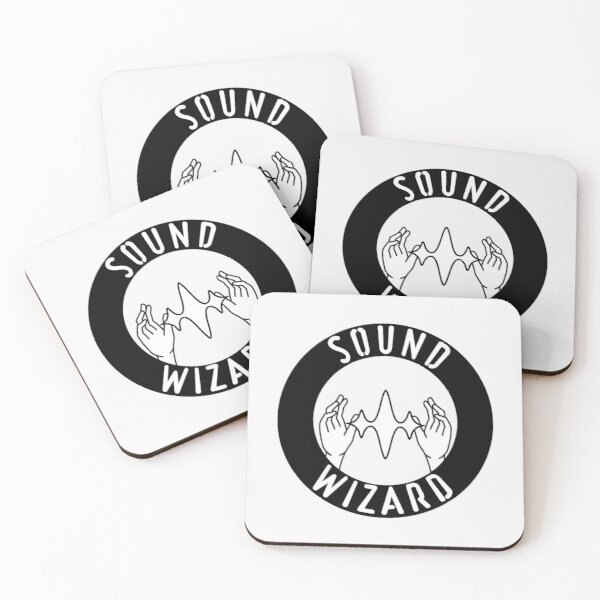 Sound Wizard Coasters (Set of 4)