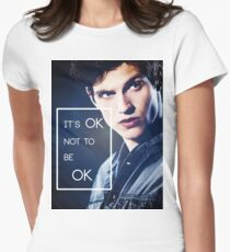 It's ok, Isaac. Women's Fitted T-Shirt
