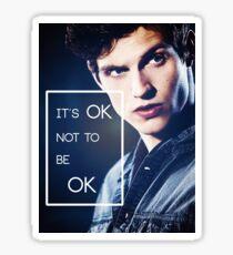 It's ok, Isaac. Sticker
