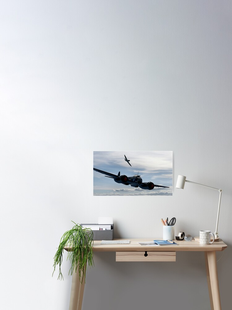 PLANES WORLD WAR FIGHTING TANKS ARMY ART WALL LARGE IMAGE GIANT POSTER