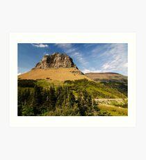 Glacier NP  Art Print