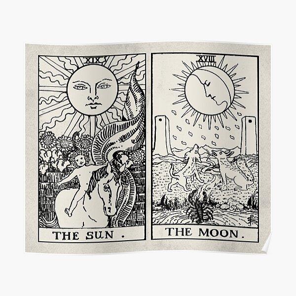 Le Tarot Soleil et Lune Poster