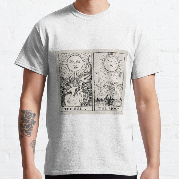 The Sun and Moon Tarot Cards Classic T-Shirt
