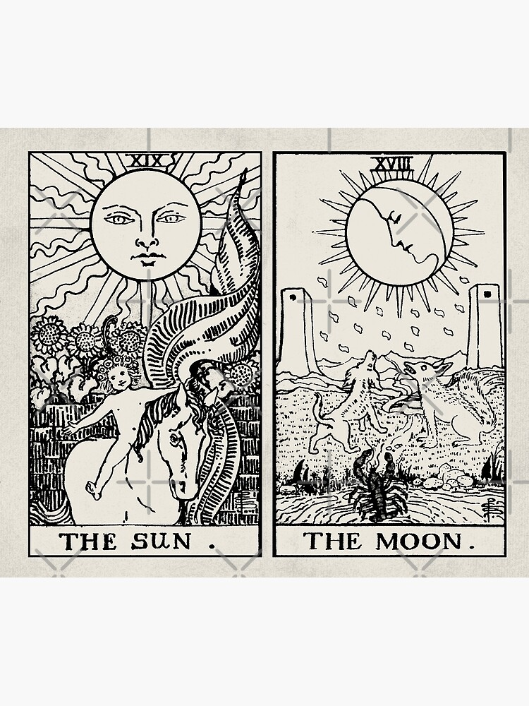 The Sun and Moon Tarot Cards by wildtribe
