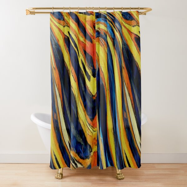 Design 8 Shower Curtain