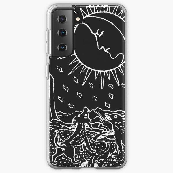 The Sun and Moon Tarot Cards   Pearl & Obsidian Samsung Galaxy Soft Case