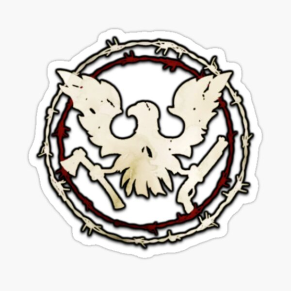 State Of Decay Circle Sticker