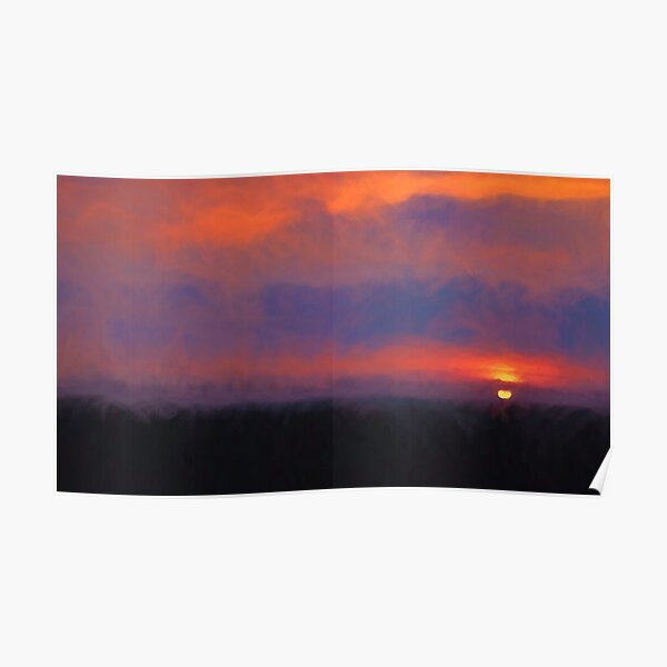 The Colors of Sunset and my Heart Poster