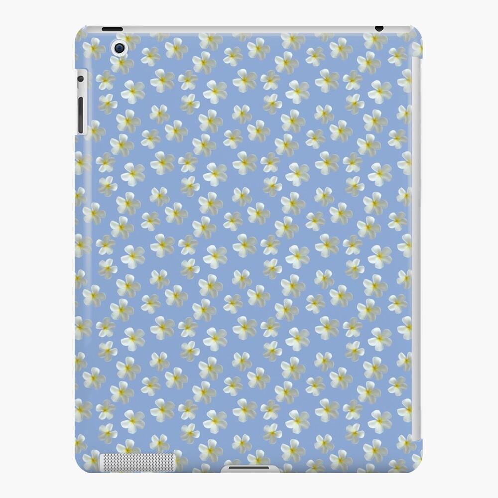 Frangipani - Weiß und Gelb iPad-Hülle & Skin