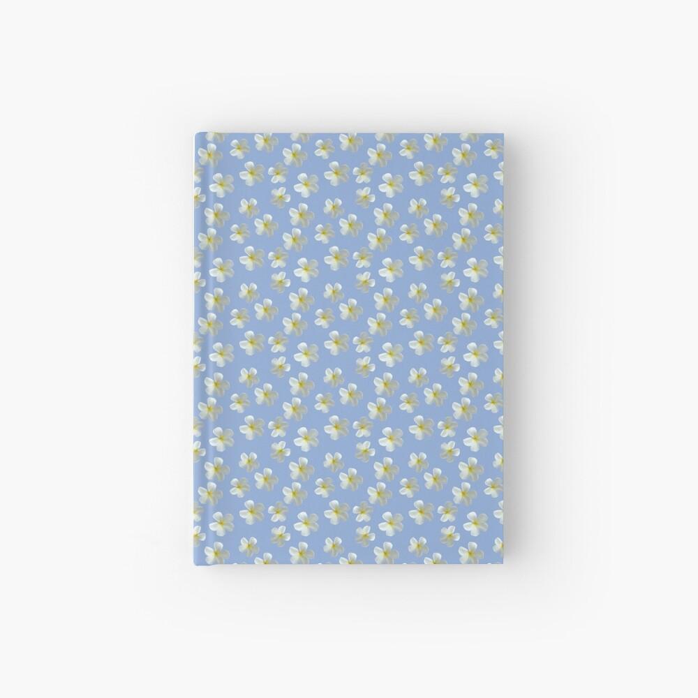 Frangipani - Weiß und Gelb Notizbuch