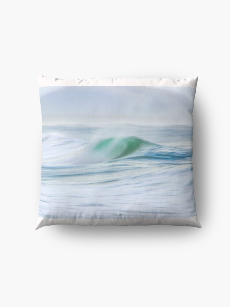 Alternate view of The Wave Floor Pillow