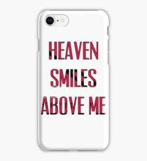 Queens of The Stone age - No One Knows - Heaven Smiles Above Me iPhone Case/Skin