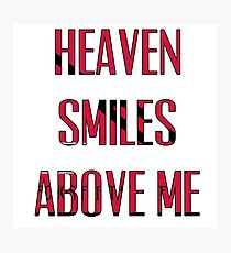 Queens of The Stone age - No One Knows - Heaven Smiles Above Me Photographic Print