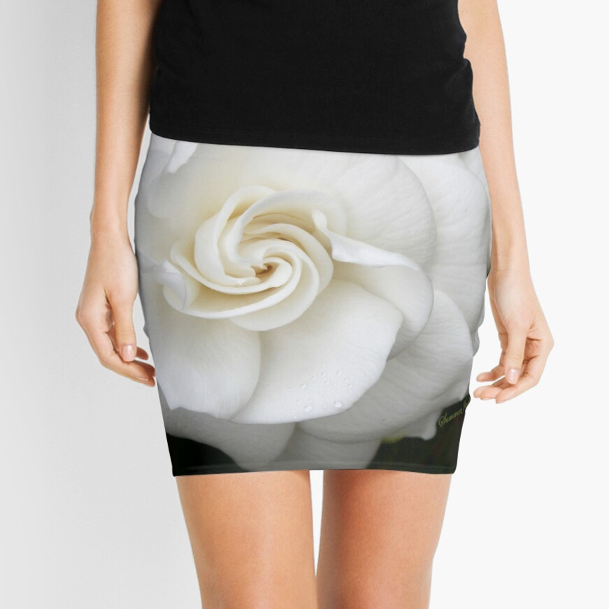 Romantic Night ~ Scent of Gardenias Mini Skirt