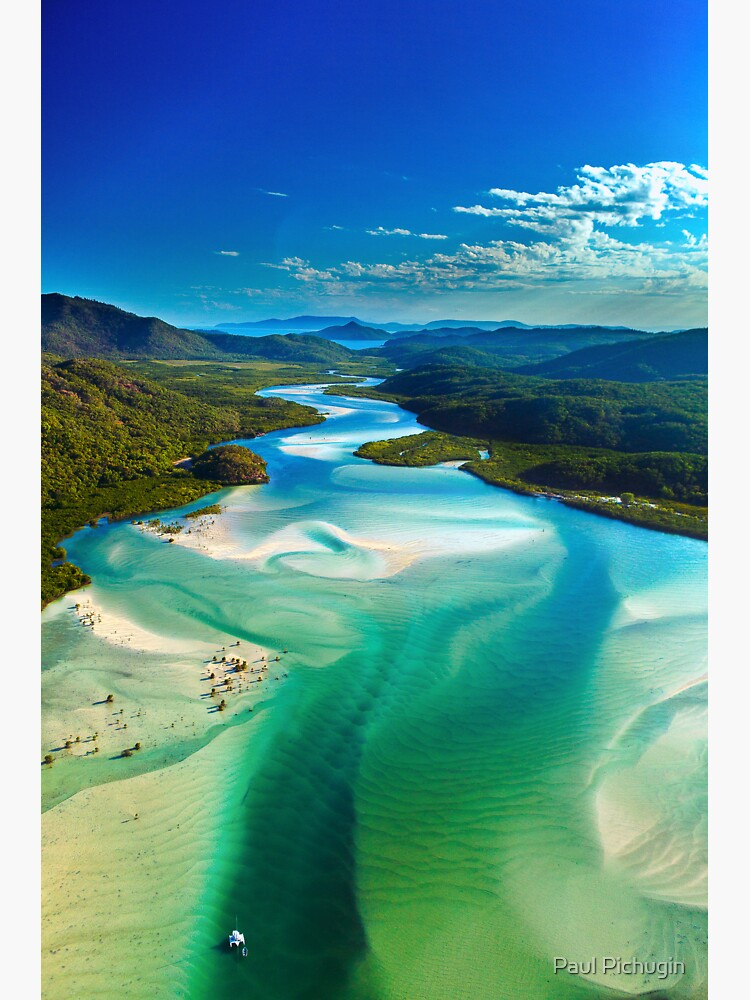 The Hill Inlet, Whitsundays by paulmp