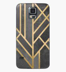Art Deco Geometrie 1 Hülle & Klebefolie für Samsung Galaxy