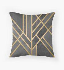 Art Deco Geometry 1 Throw Pillow