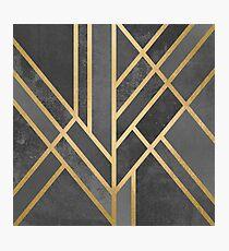 Art Deco Geometrie 1 Fotodruck
